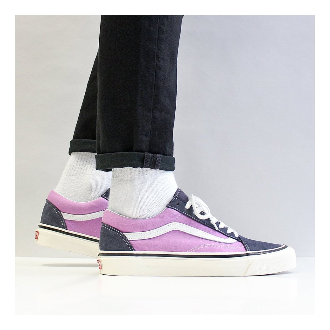b737bb02f9 VANS OLD SKOOL 36 DX SHOES – (ANAHEIM FACTORY) OG NAVY OG LILAC ...