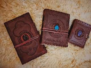 Vintage Leather handmade journal