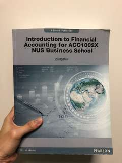 ACC1002X Financial Accounting Textbook 2nd Edition
