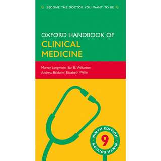 Oxford Handbook of Clinical Medicine 9th Ninth Edition