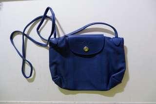 Longchamp 細羊皮斜咩袋