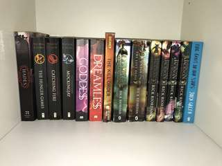 The Hunger Games, Percy Jackson and more