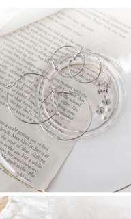 🚚 韓國 超值四件組耳環