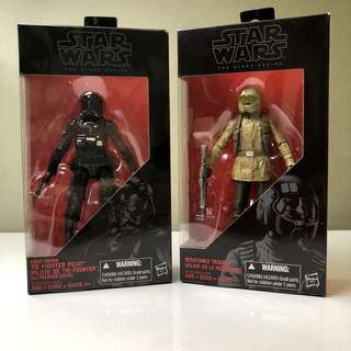 Star Wars The Black Series TFA Bundle