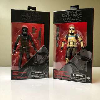 Star Wars The Black Series Rogue One Bundle