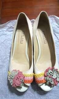 Forleria Floral Platform Shoes 防水台