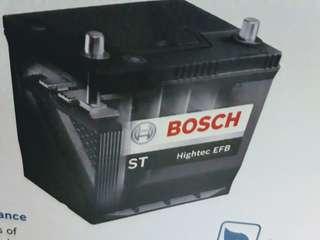 Car Battery-Bosch Start-Stop Battery                                                                         N55 70B24L 55AH 510CCA                                                                             1 Year Warranty