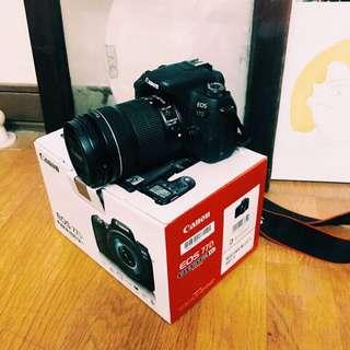 🚚 Canon 77D 單眼相機& Canon 18-135 STM旅遊鏡