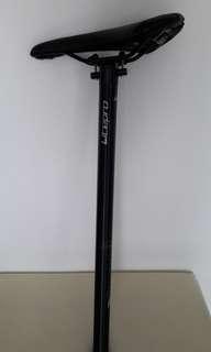 seat pole and saddle