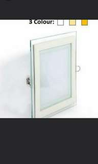 Led Downlight Glass 12watts 3 colour