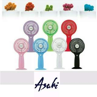 Asahi MF-038 USB Portable 1500mAh Handy Mini Fan