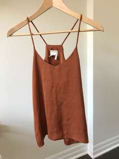 H&M Burnt orange cami