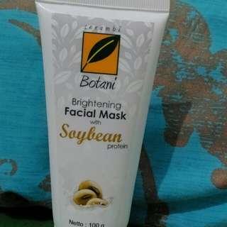 Serambi botani whitening face mask with soya bean