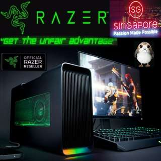 Razer Core V2..  ( GPU 1080 Ti not included inside )