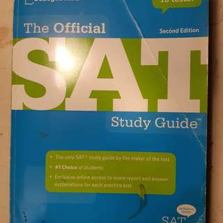 Collegeboard SAT Test Book