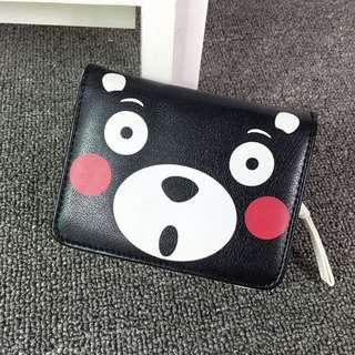 日本雜誌款 KUMAMON 熊本熊 皮夾 短夾 零錢包 錢包