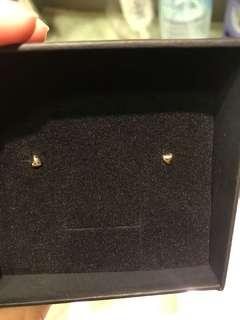 韓式心型耳環