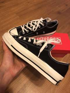 Converse First string 1970s black