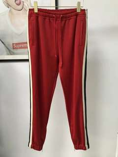 Gucci Red Track Pants