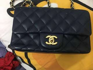 Chanel classic深藍色