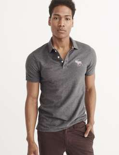 🚚 A&f Men's polo shirt