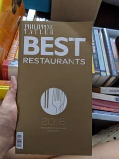 Philippine Tatler Best Restaurants