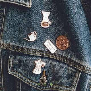 Starbucks徽章套裝-5款