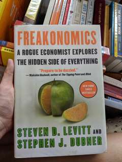 Freakonomics hardbound