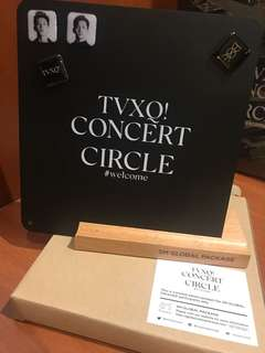 TVXQ! Circle Welcome Magnetic Board & 4 Magnets