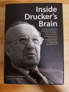 Inside Drucker's Brain (Hard Cover)