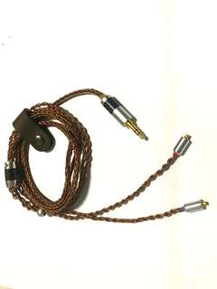 Price decrease! 8 Core Pure Copper Litz Upgrade Cable For IEM (Upgraded Version)