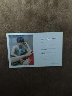 [INFINITE] Sungyeol <Reality> card