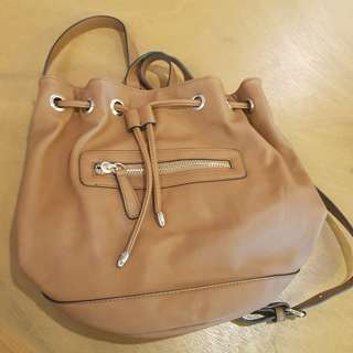 Forever 21 brown backpack