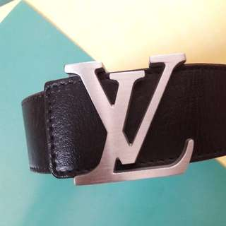 LV Belt Dark Brown