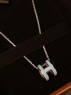 Hermes pop h necklace