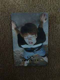 [INFINITE] Woohyun <Reality> photocard