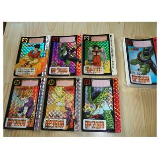 Dragonball carddass part 15 fullset