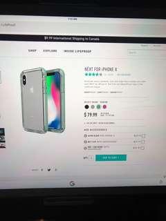 Iphone X Next case + new headphones