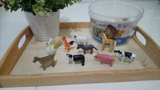 [FreeMail] Learning Resources Farm Animals 10small pcs for $10