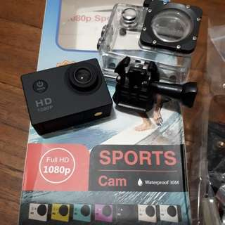 Sports Cam 1080p water proof camera