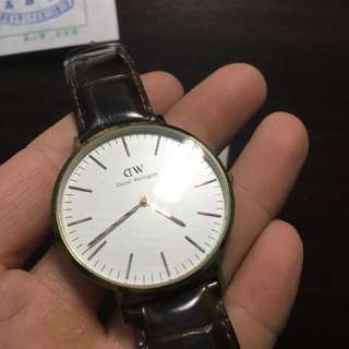 DW皮錶 男錶
