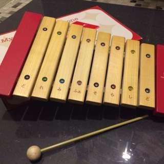日本製 木琴 (九成新)