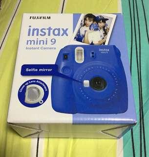 Fujifilm Instax mini 9 : Cobalt Blue (New)