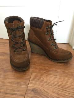 Aldo Wedge Ankle Boots - Size 7/7.5