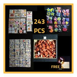 CRAZY STAMP SALE! Foam Stamps / Rubber Stamps