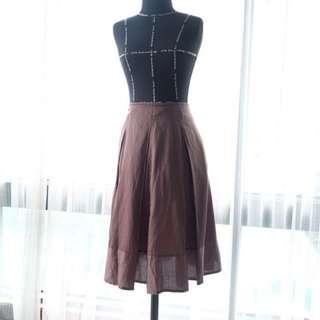 Mphosis Brown Skirt