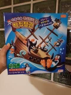 近全新 企鵝海盜船 平衡遊戲 親子 互動 桌遊 遊戲