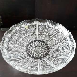 Bohemian Crystals Large Bowls
