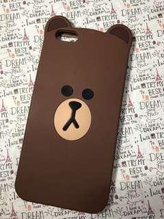 Brown iPhone6 plus Case 可放卡