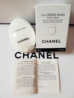 🔵$85➡️MY FOLLOWERS ONLY🔵🚫Non Followers cannot get Member Price Discounts🚫🐰AUTHENTIC BRAND NEW🐰CHANEL LA CREME MAIN Hand cream --smooth.soften.brighten💋No Pet No Smoker Clean Hse💋